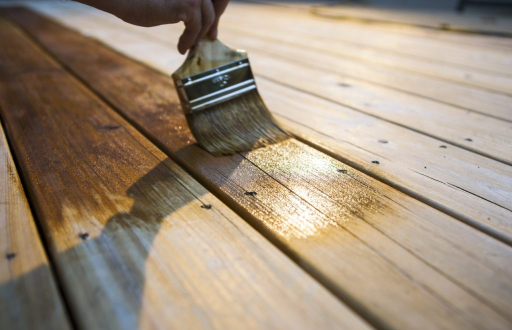 3 Tips for Maintaining the Outside of Your Home - Deck Stain