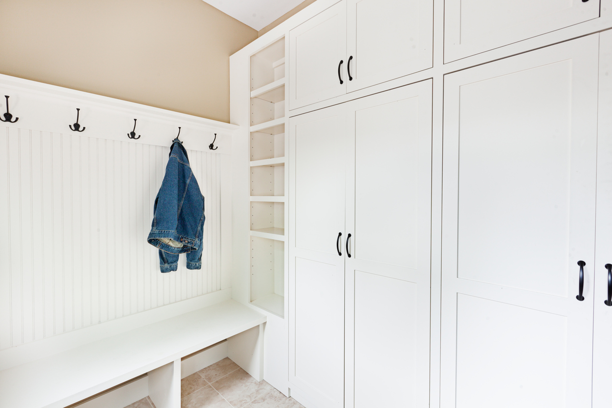 Create The Ultimate Mudroom