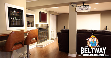 basement remodeling crofton maryland featured